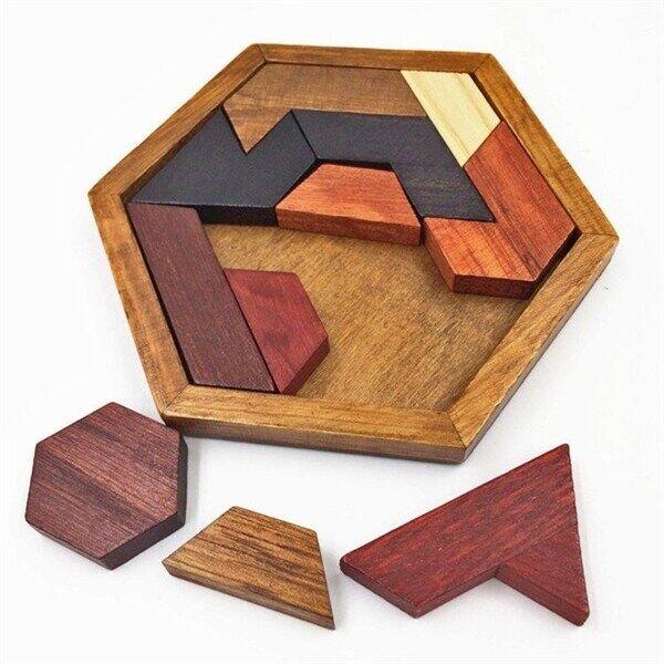 Trepuslespill Hexagon