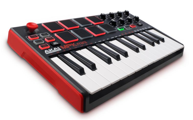 Akai MPK Mini Mk2 - MIDI-keyboard med 25 tangenter