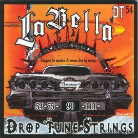 LaBella DT54 Bass Set Bass Drop Tune 054-111. Bass-strengesett for droptuning