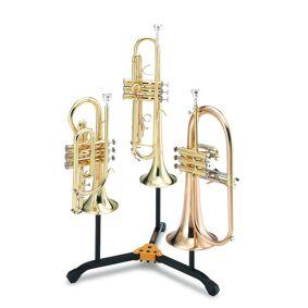 Hercules DS513BB - Stativ for 2x kornett/trumpet og 1x flygelhorn