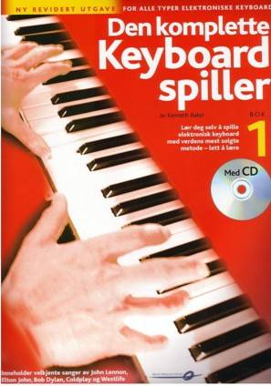 Den komplette keyboard spiller 1 Rev. m/CD *