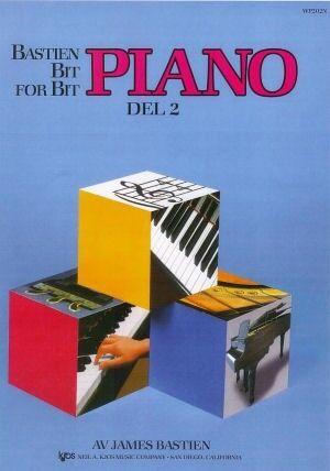 Bastien Bit for bit 2 Pianoskole - Norsk utgave