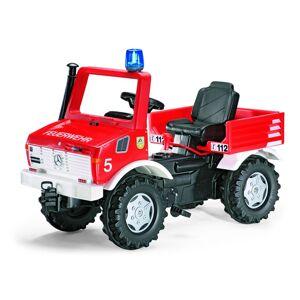 Rolly Toys Tråtraktor Unimog Brannbil med gir og brems