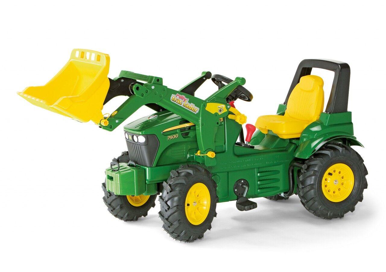 Rolly Toys Tråtraktor John Deere 7930 med gir og brems