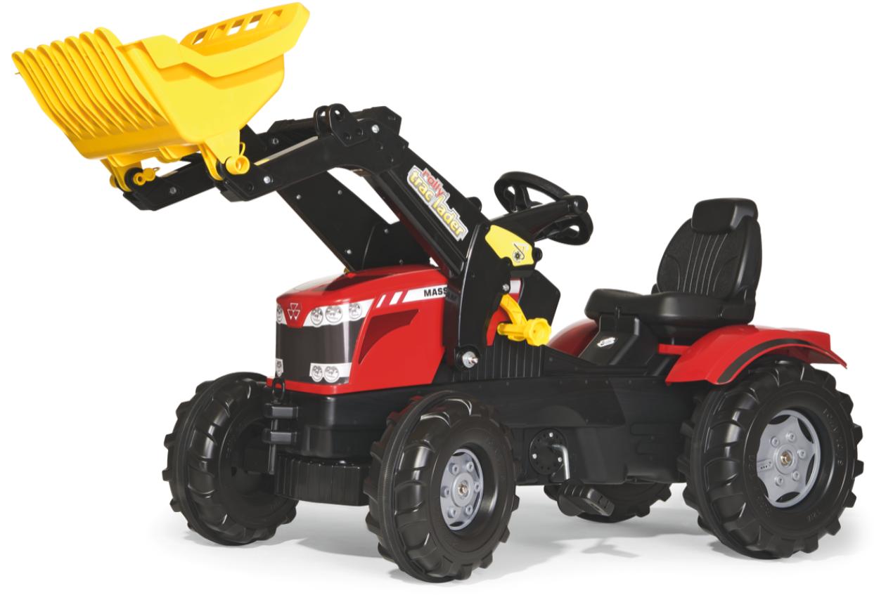 Rolly Toys Rolly Farmtrack Massey Ferguson 7726 tråtraktor med lesseapparat
