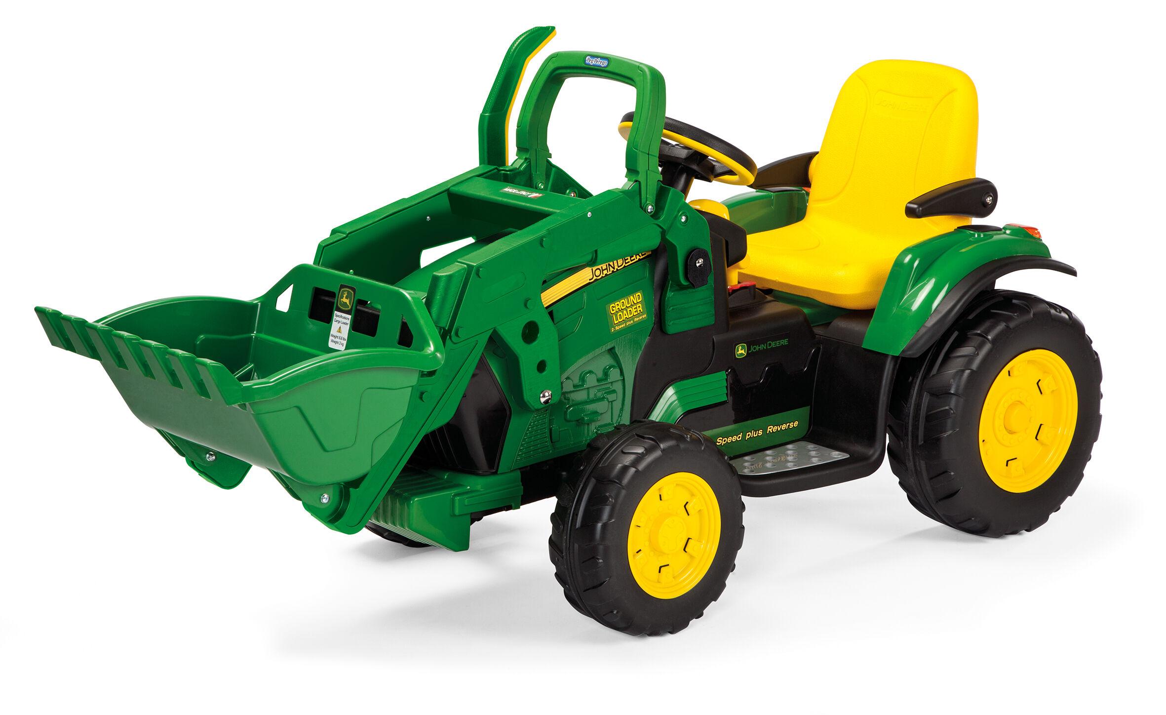 Peg-Pérego John Deere Ground Loader 12V elektrisk traktor