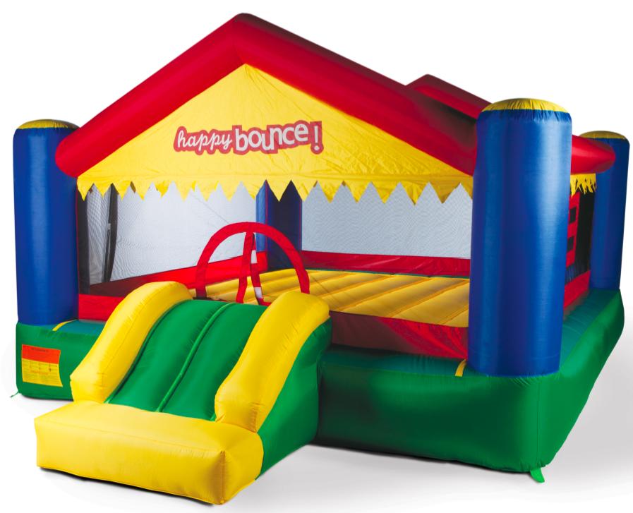 Avyna Hoppeslott – Happy Bounce – Party House Big