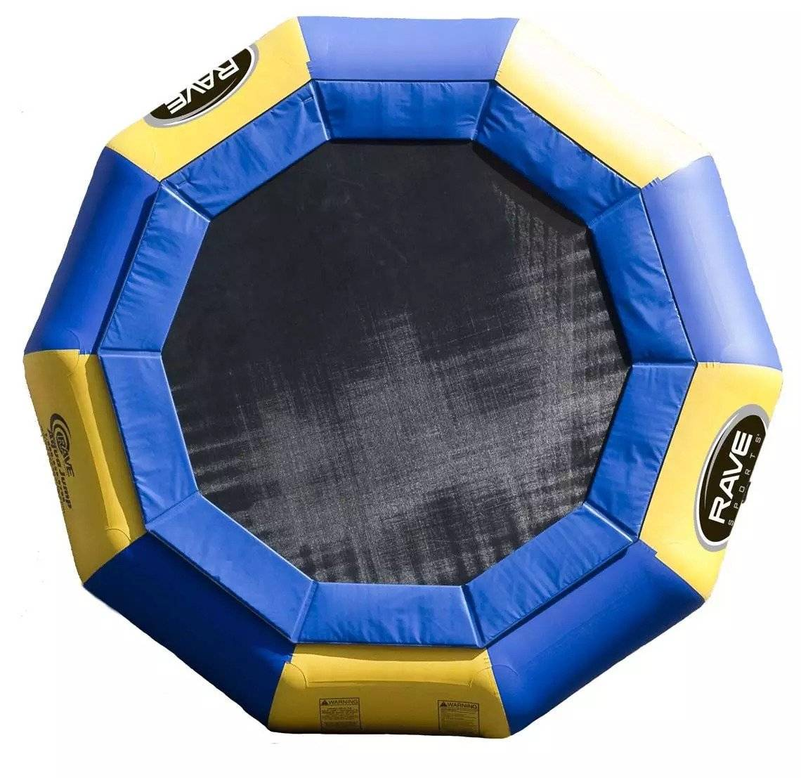 Rave Sports Trampoline – Rave Sports – Aqua Jump Eclipse 150 – 457cm (15ft) vanntrampoline