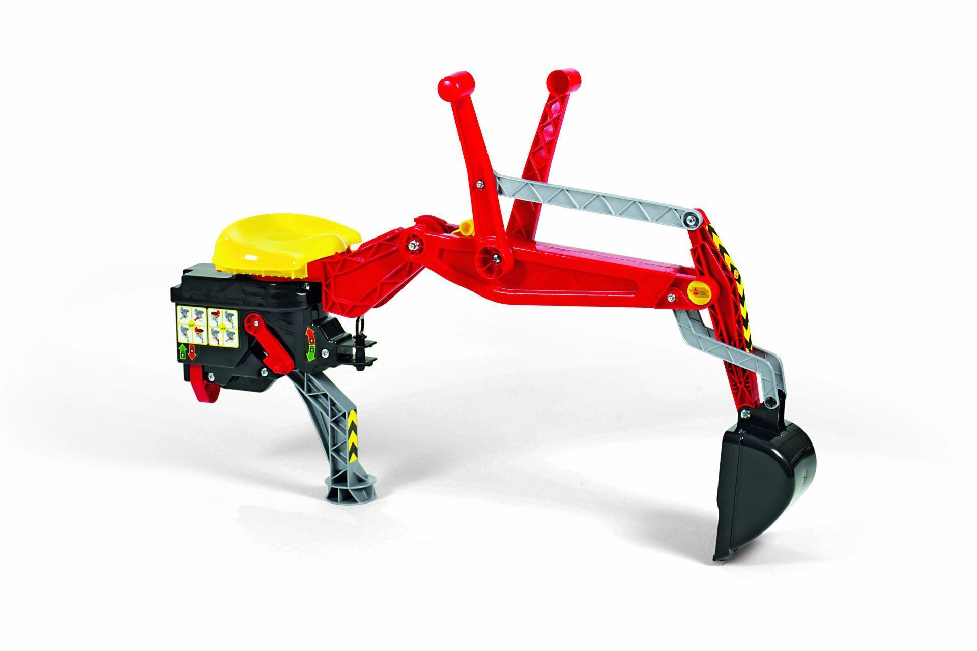Rolly Toys – Graveredskap til tråtraktor for bakmontering