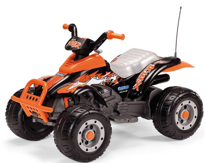 Peg-Pérego Elektrisk ATV Peg Pérego Corral T-Rex 12V/330W