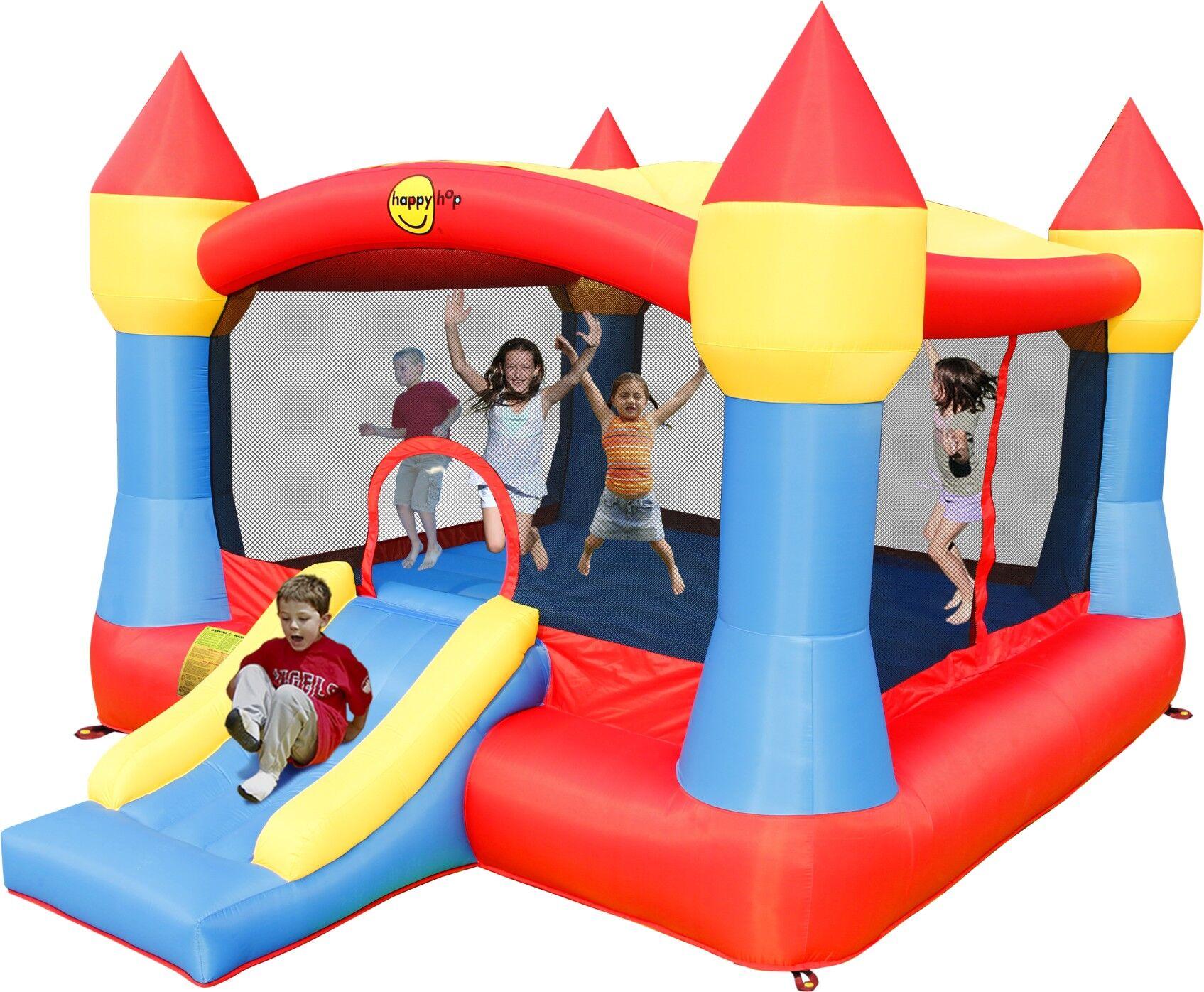 Leg-godt Hoppeslott – Bouncy Castle med sklie