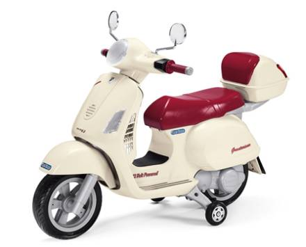 Peg-Pérego Vespa elektrisk scooter