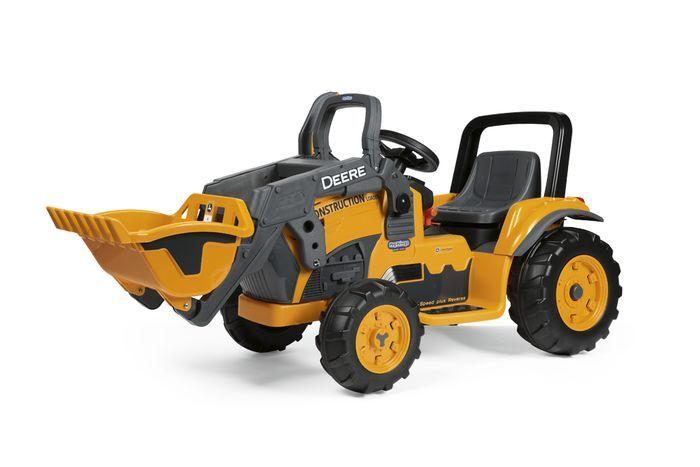 Peg-Pérego Deere Construction Loader 12V elektrisk traktor
