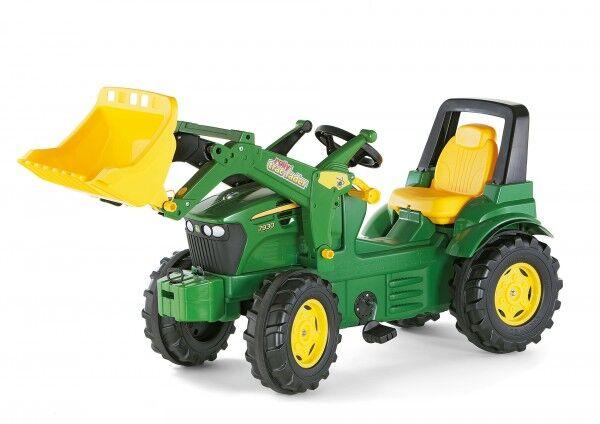 Rolly Toys Tråtraktor John Deere 7930 med frontlaster