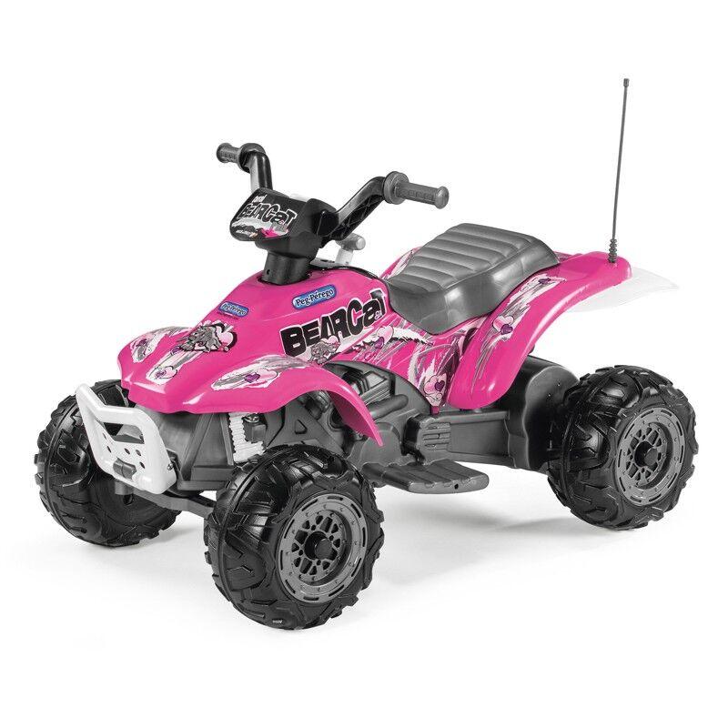 Choppi Elektrisk ATV Peg Pérego Corral Bearcat Pink 6V