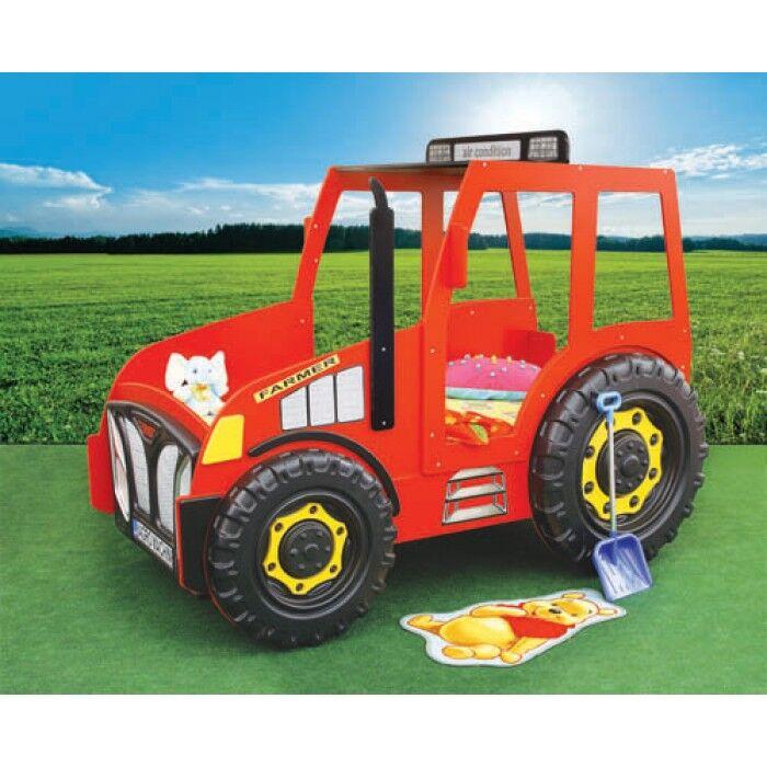 Choppi Traktorseng – Barneseng med madrass