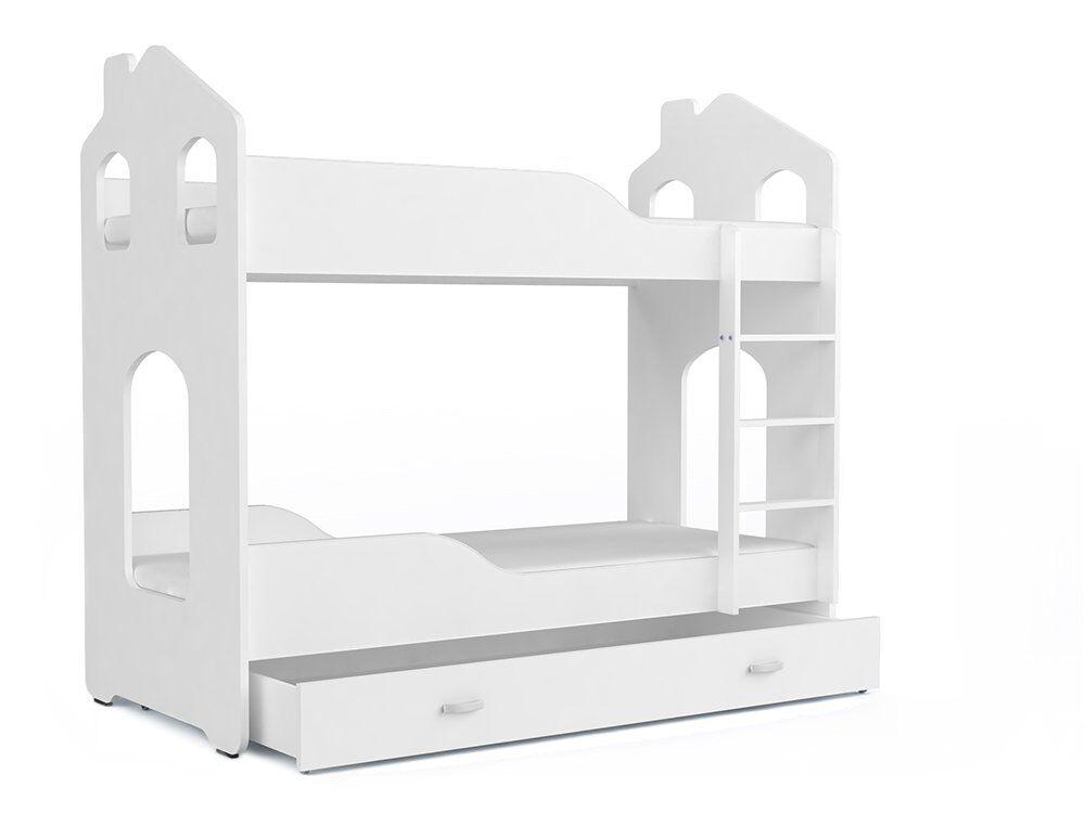 Choppi Køyeseng husseng med skuff inkludert madrasser!