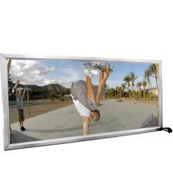 Europalms Illuminated billboard, aluminium, 1x2m oppslagstavle opplyst palms