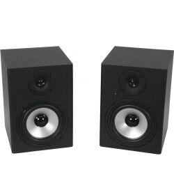 Omnitronic PME-5 Studio Monitors 2x studiomonitorer monitorer skjermer fem