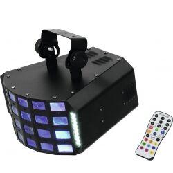 EuroLite LED D-30 Hybrid Beam Effect TILBUD NU effekt bjelke stråle