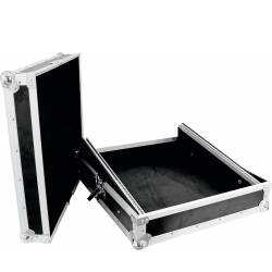 Roadinger Mixer Case Pro MCB-19, sloping, black 10U mikser inger vippe svart