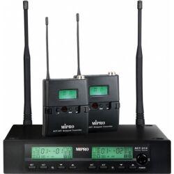 Mipro trådløs mikrofonsæt ACT312 med 2 lommesendere TILBUD NU