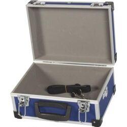 Perel Alu. værktøjskuffert 320 x 230 x 155mm, Blå verktøyskuffert verktøykoffert
