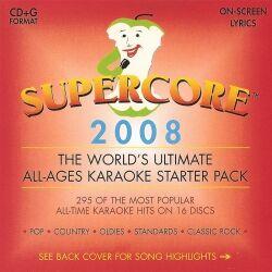 Supercore 2008 Karaoke 16 CD+G Disc Pack superkjerne discover kjerne super