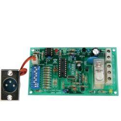 Velleman VM138 DMX styret relækontakt (8A) kontrollert relékontakt relébryter