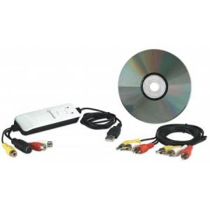 MANHATTAN Grabber Audio/Video Hi-Speed USB 2.0, NTSC/PAL/SECAM 162579