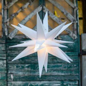 Deco Trend Gwiazda dekoracyjna, 18 ramion, Ø 40 cm biała