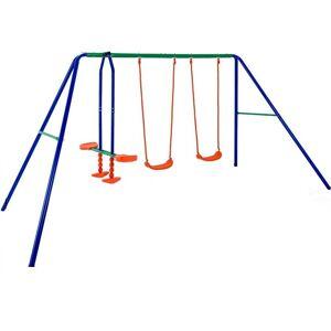 Huśtawka Ogrodowa Dla Dzieci Plac Zabaw 3 Huśtawki