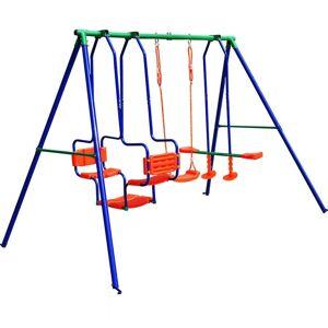 Huśtawka Ogrodowa Dla Dzieci Plac Zabaw 3w1