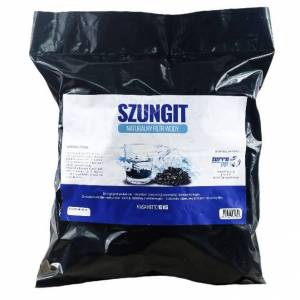 Szungit naturalne filtry TERRA P.P. Sp z o.o. ul. Perla 76, 41-300 Dąb Naturalny filtr wody Szungit granulacja XL średnica 20-40mm 10kg Terra PP