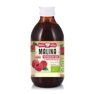 POLSKA ROŻA Sok z owoców malin BIO 250 ml Polska Roża