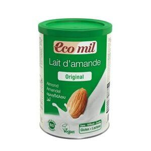 ECOMIL Instant napój migdałowy słodzony syropem z agawy BIO 400 g Ecomil