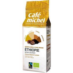CAFE MICHEL Dystrybutor: Bio Planet S.A., Wilkowa Wieś 7, 05-084 Leszn Kawa mielona arabica moka sidamo Etiopia FAIR TRADE BIO 250 g - CAFE MICHEL