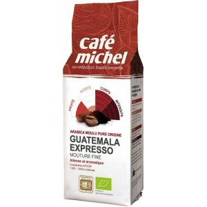 CAFE MICHEL Dystrybutor: Bio Planet S.A., Wilkowa Wieś 7, 05-084 Leszn Kawa mielona arabica espresso Gwatemala FAIR TRADE BIO 250 g - CAFE MICHEL