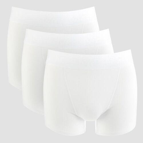 MP Sportowe Bokserki (3-pak) - Białe - M