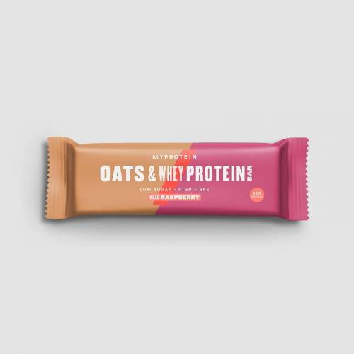 Myprotein Baton Białkowy Oats & Whey - Prawdziwa malina