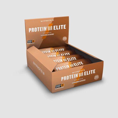 Myprotein Baton Białkowy Elite - Karmel i orzech laskowy