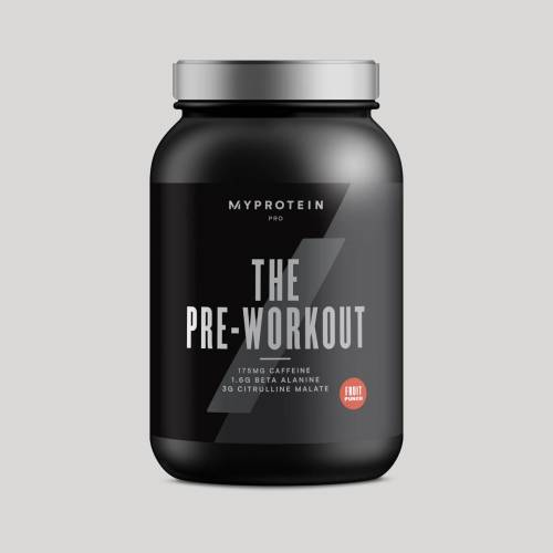 Myprotein THE Pre-Workout - 30servings - Poncz owocowy