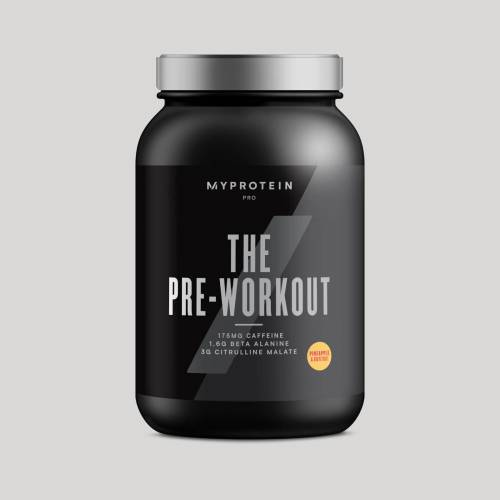 Myprotein THE Pre-Workout - 30servings - Ananas i Grejpfrut