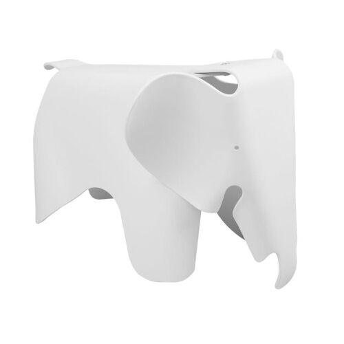 KH Designerski stołek Elephant biały