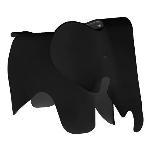 KH Designerski stołek Elephant czarny