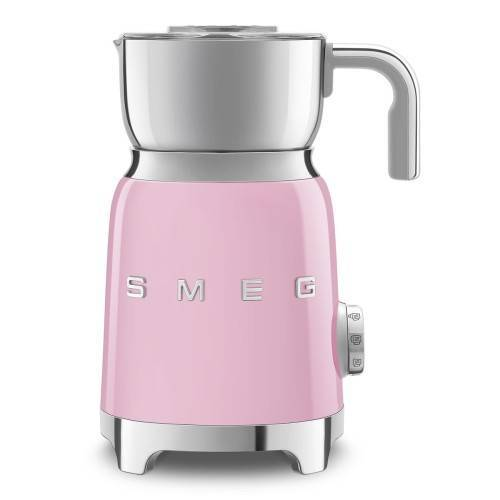 SMEG Spieniacz do mleka SMEG różowy