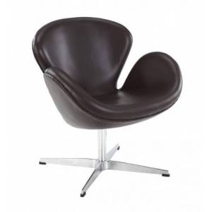 Design Town Fotel ŁABĘDŹ skóra naturalna - insp. proj. Swan Chair