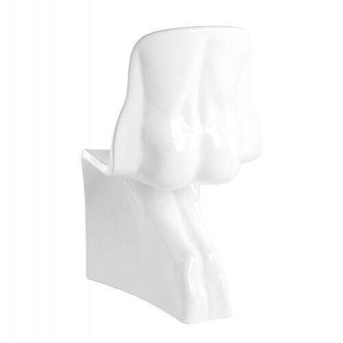 KH Krzesło HIM białe - włókno szklane