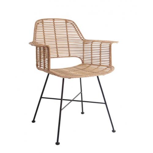 BM Housing Krzesło rattanowe TUB naturalne