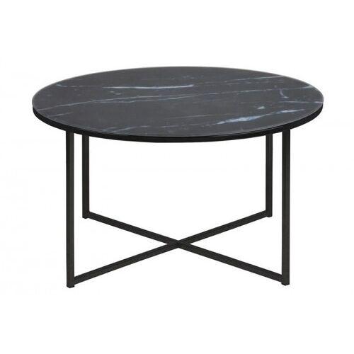 D2 Stolik kawowy Alisma okrągły black